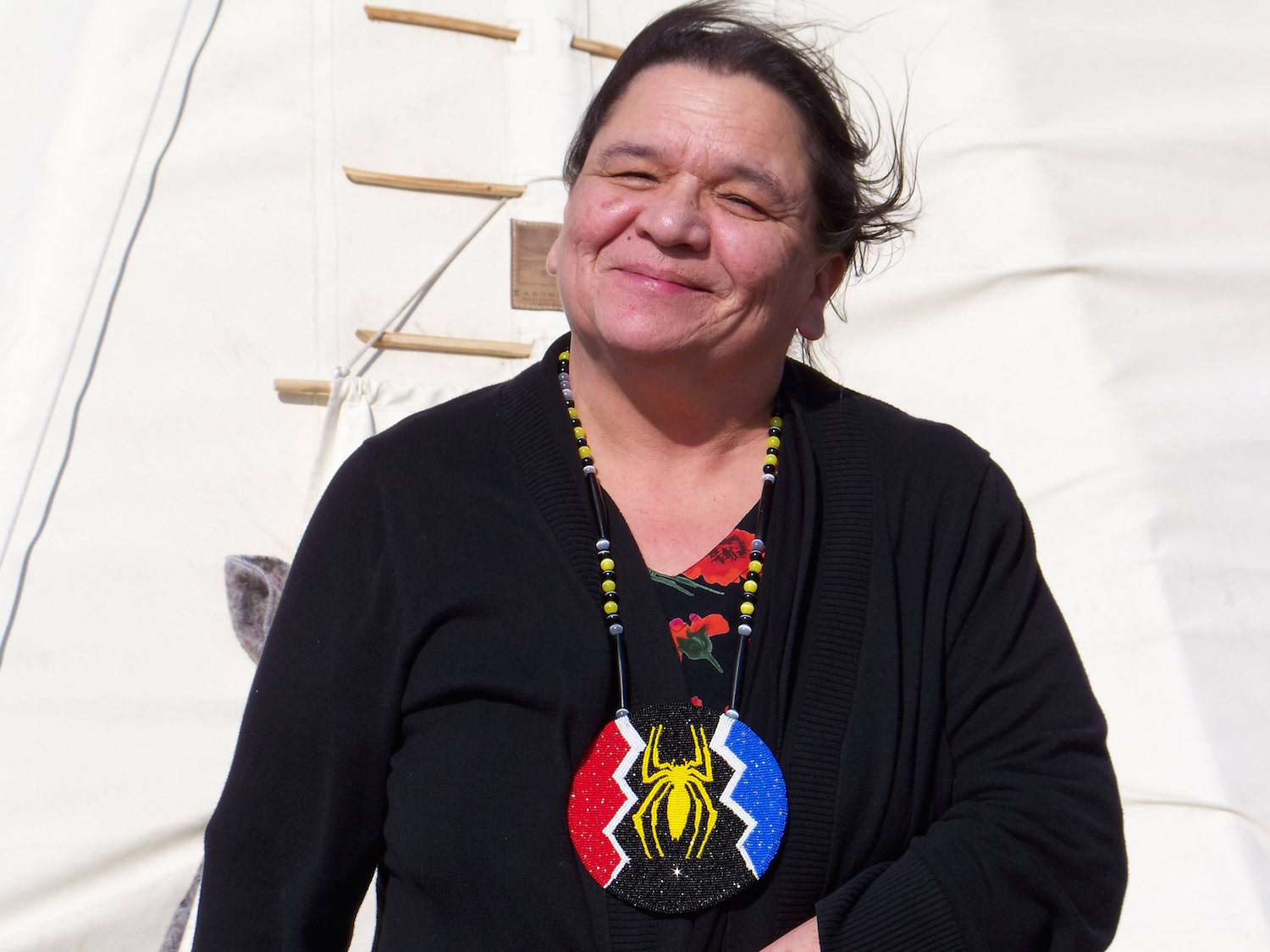 Vi Waln: Don't be afraid to come pray with your Lakota relatives