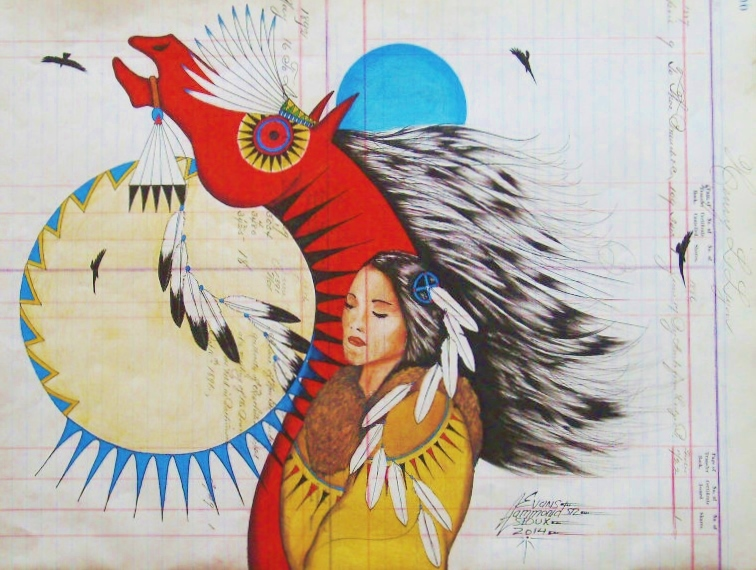 Lakota Country Times: Museum features work of ledger artist