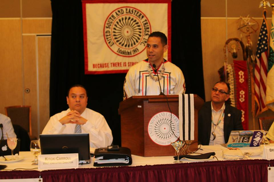 United South and Eastern Tribes open meeting in Connecticut