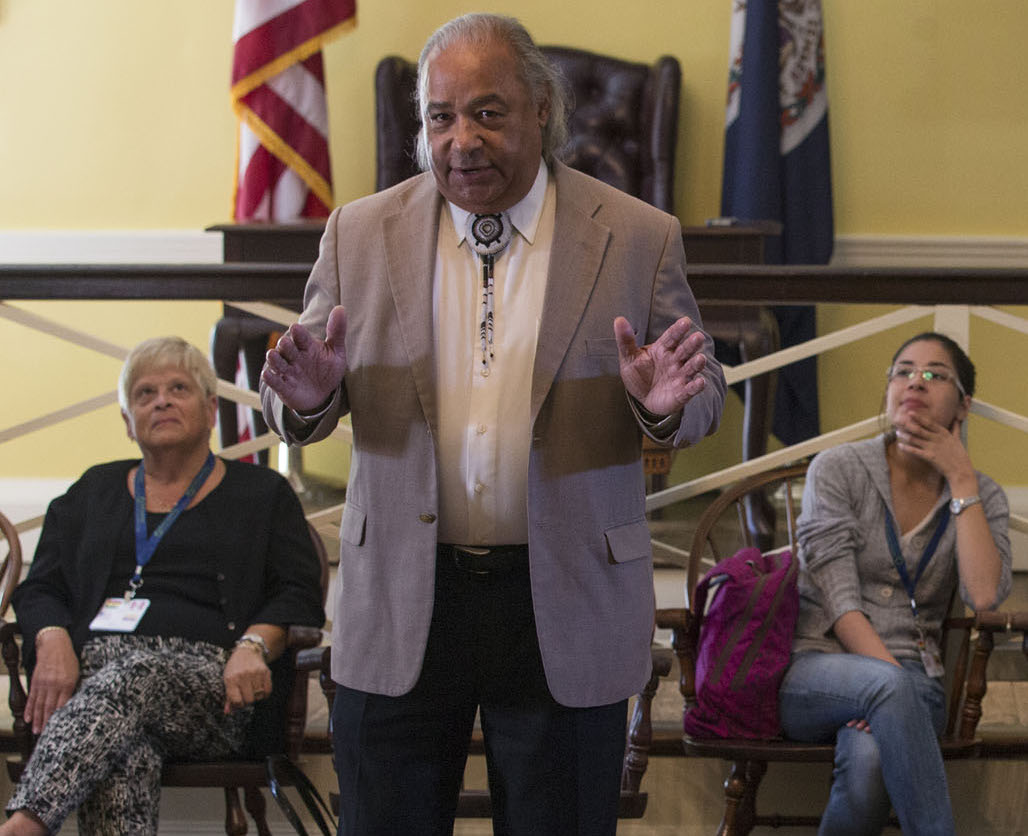 Chief of Chickahominy Tribe eyes seat in Virginia Legislature