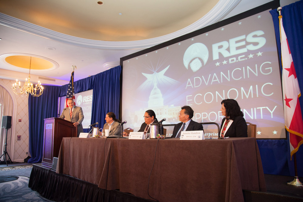 Tribal leaders return to nation's capitol for big economic summit