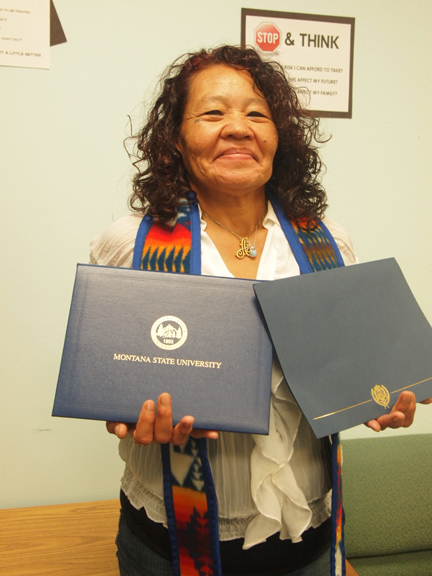 Native Sun News: Northern Cheyenne student receives top honor