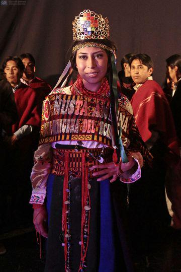 Native women compete in first Miss Indigenous Ecuador contest