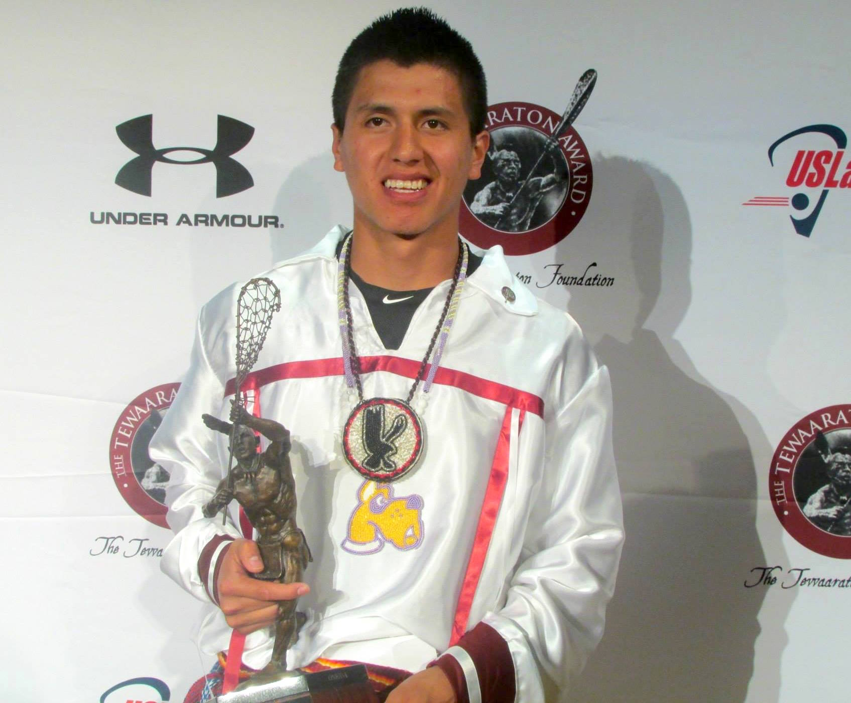 Onondaga Nation player earns top lacrosse award for 2nd year