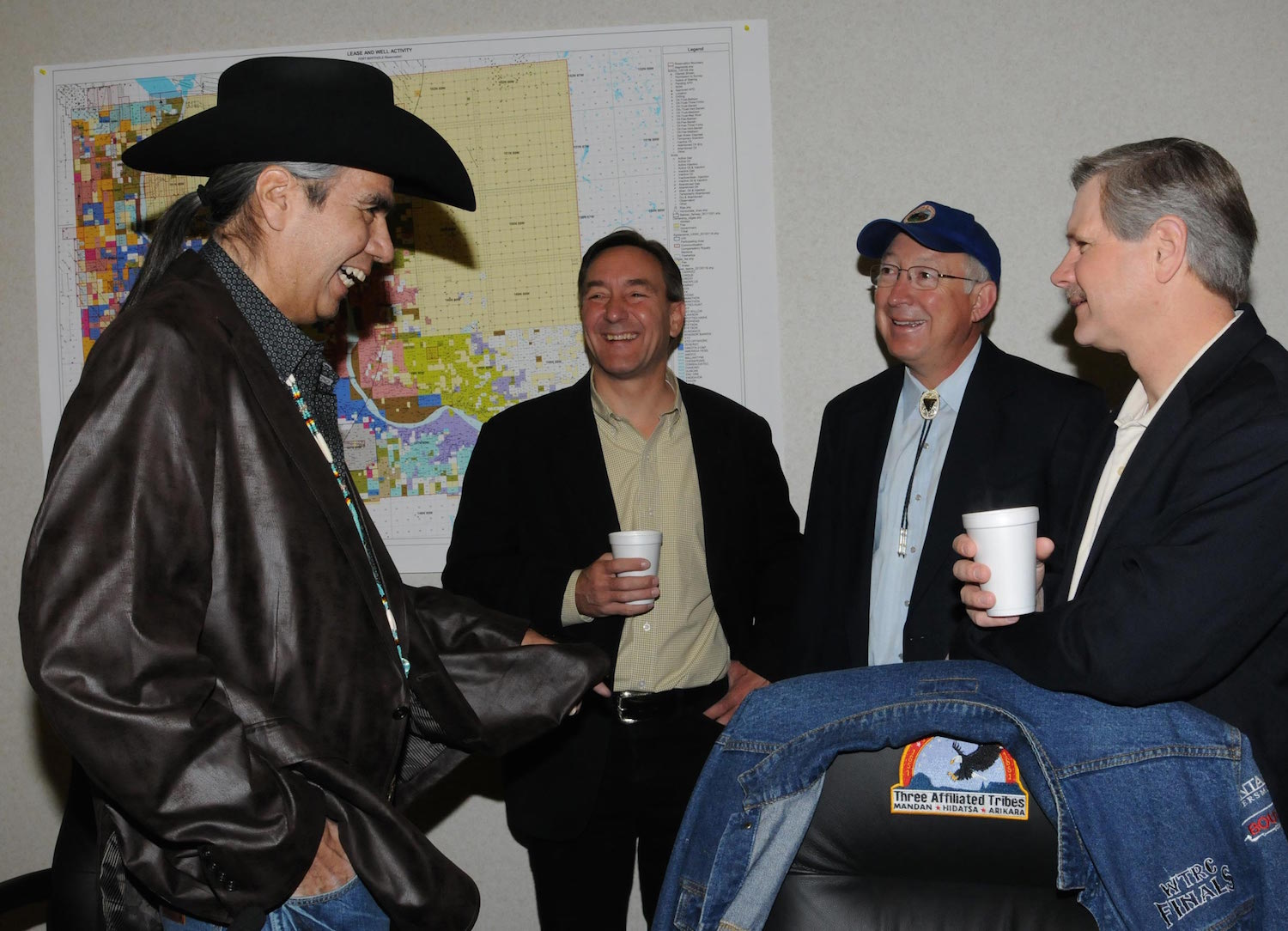 Tex Hall joins company to promote marijuana in Indian Country