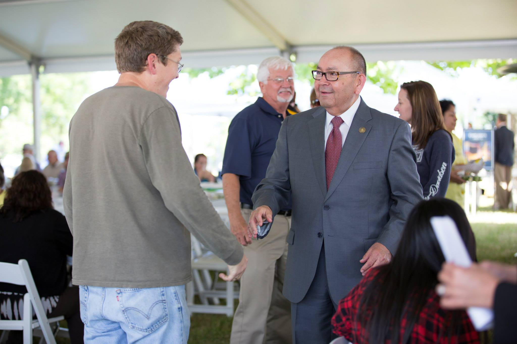 Chickasaw Nation Governor Bill Anoatubby seeks another term