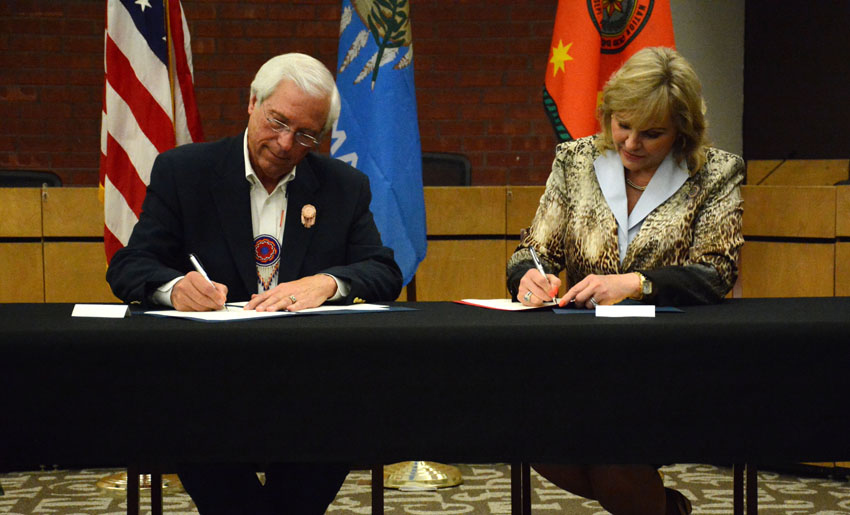 Choctaw and Chickasaw tribes negotiate hunting agreements