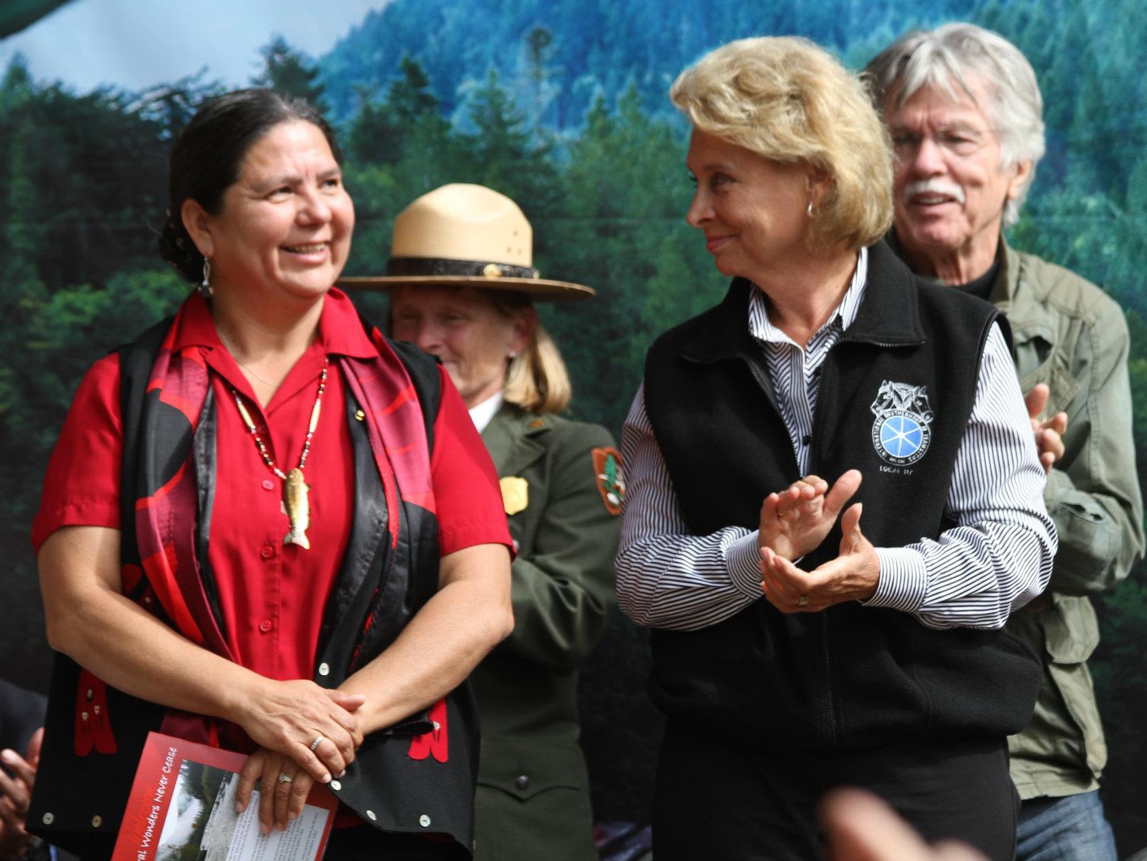 Frances Charles re-elected as chair of Lower Elwha Klallam Tribe