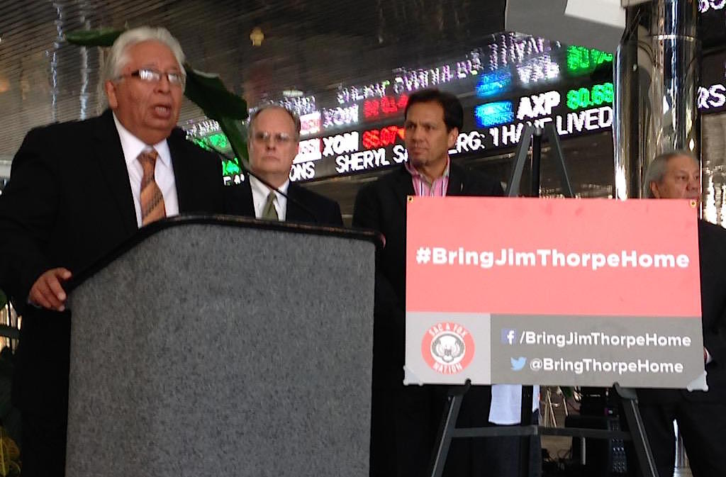 Sac and Fox Nation launches campaign to bring Jim Thorpe home