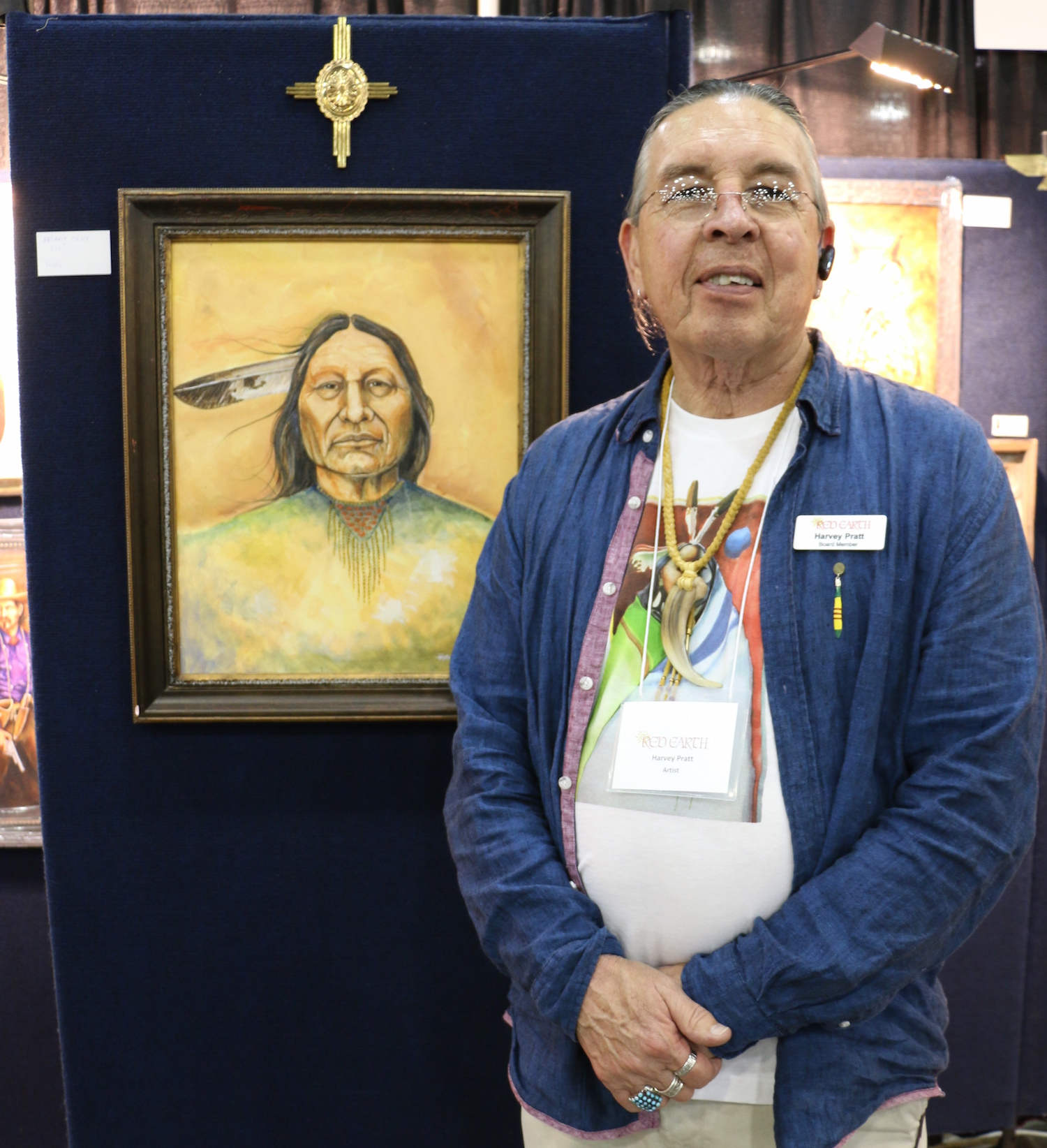 Cheyenne-Arapaho Tribal Tribune: Artists shine at Red Earth fest