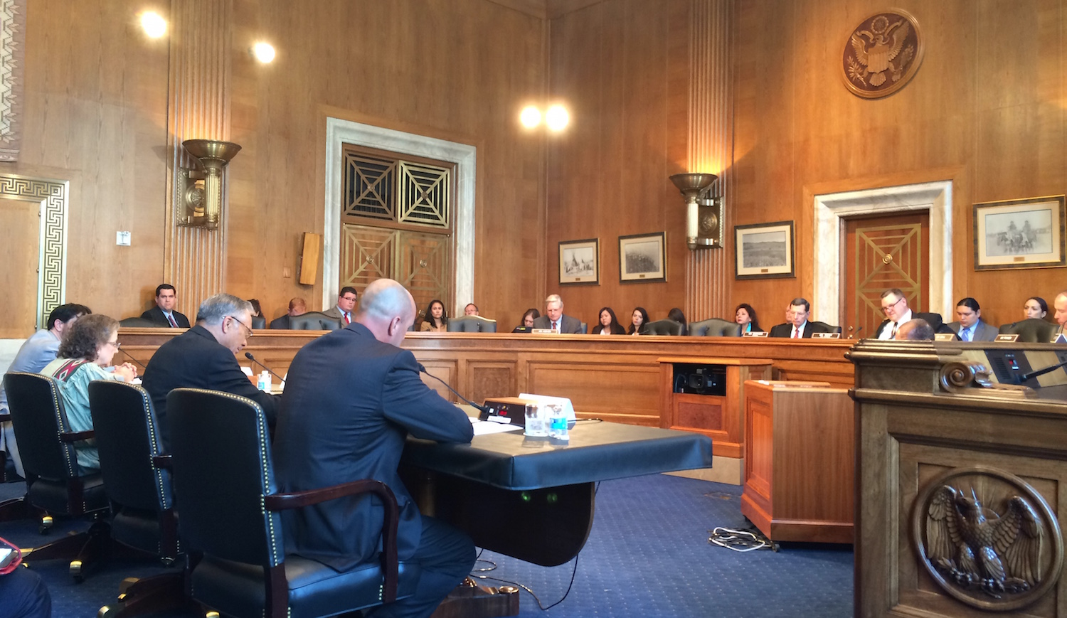 Senate committee upset by testimony at victim services hearing