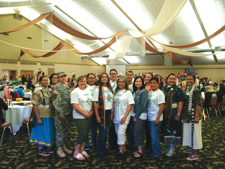 Native Sun News: Lakota Women Warriors support the community