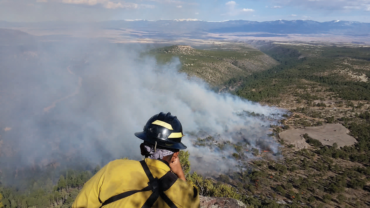 Tribes benefit from wildland fire protection at Interior Department