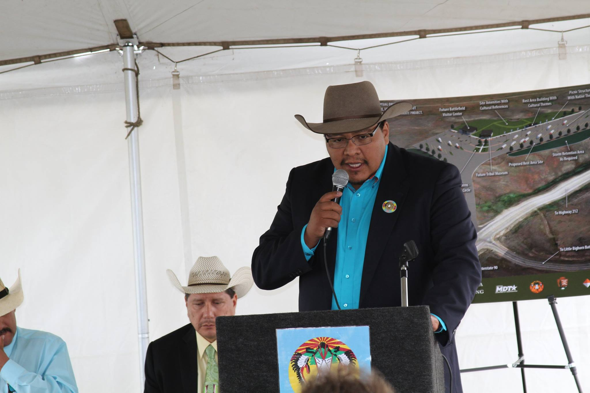 Native Sun News: Crow Tribe collaborates on Bighorn rest area