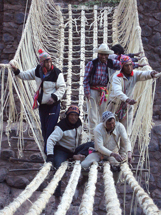 Smithsonian festival to feature replica of sacred bridge in Peru