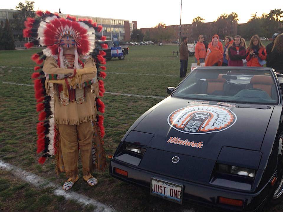 the history of chief illiniwek as a university of illinois mascot and racist stereotype A university of illinois student wore his opinion at the last performance of chief illiniwek in 2007 many people still have the same attitude, making the task of finding a mascot difficult.