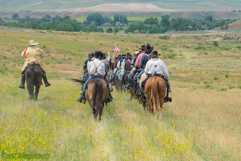 Clara Caufield: Welcoming riders to Little Bighorn anniversary