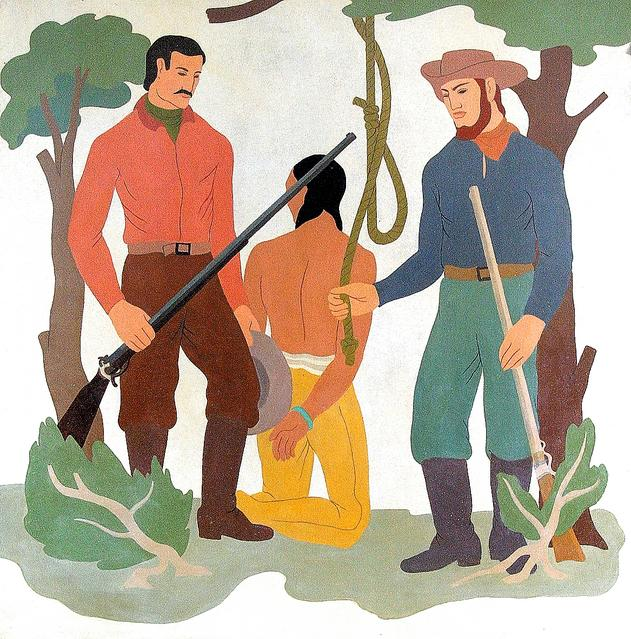 University to cover murals that depict lynching of Indian man