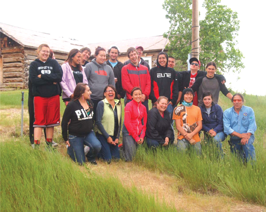 Native Sun News: Tribal youth share traditions and technology