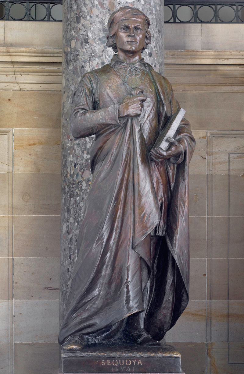 Bryan Terry: Honor Sequoyah with statue at Tennessee capitol