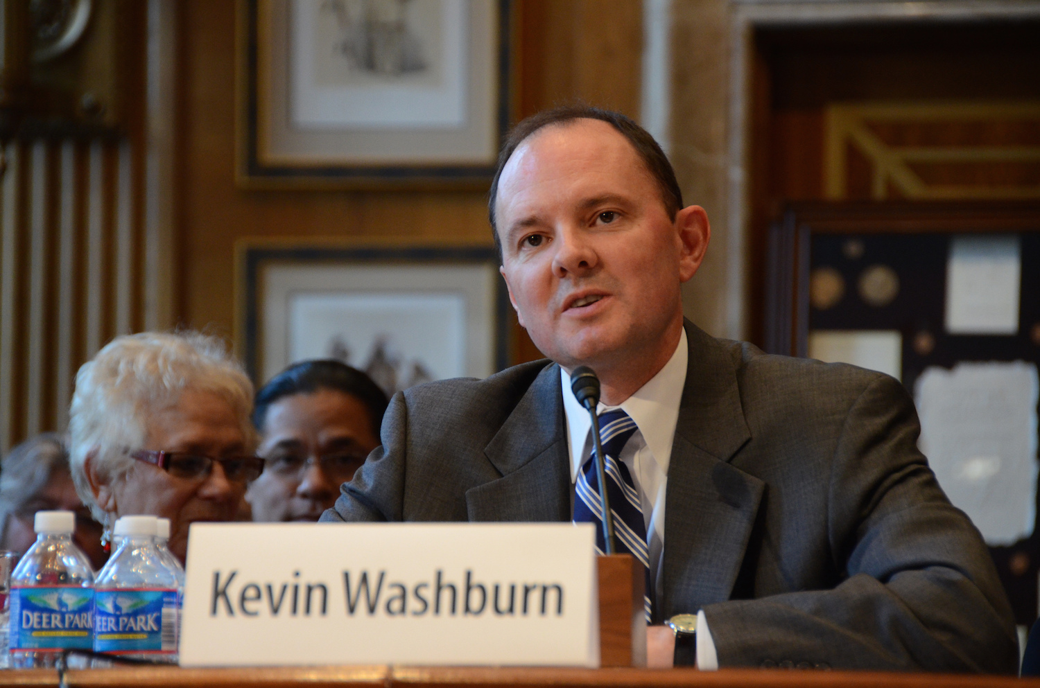Assistant Secretary Washburn plans to return to New Mexico