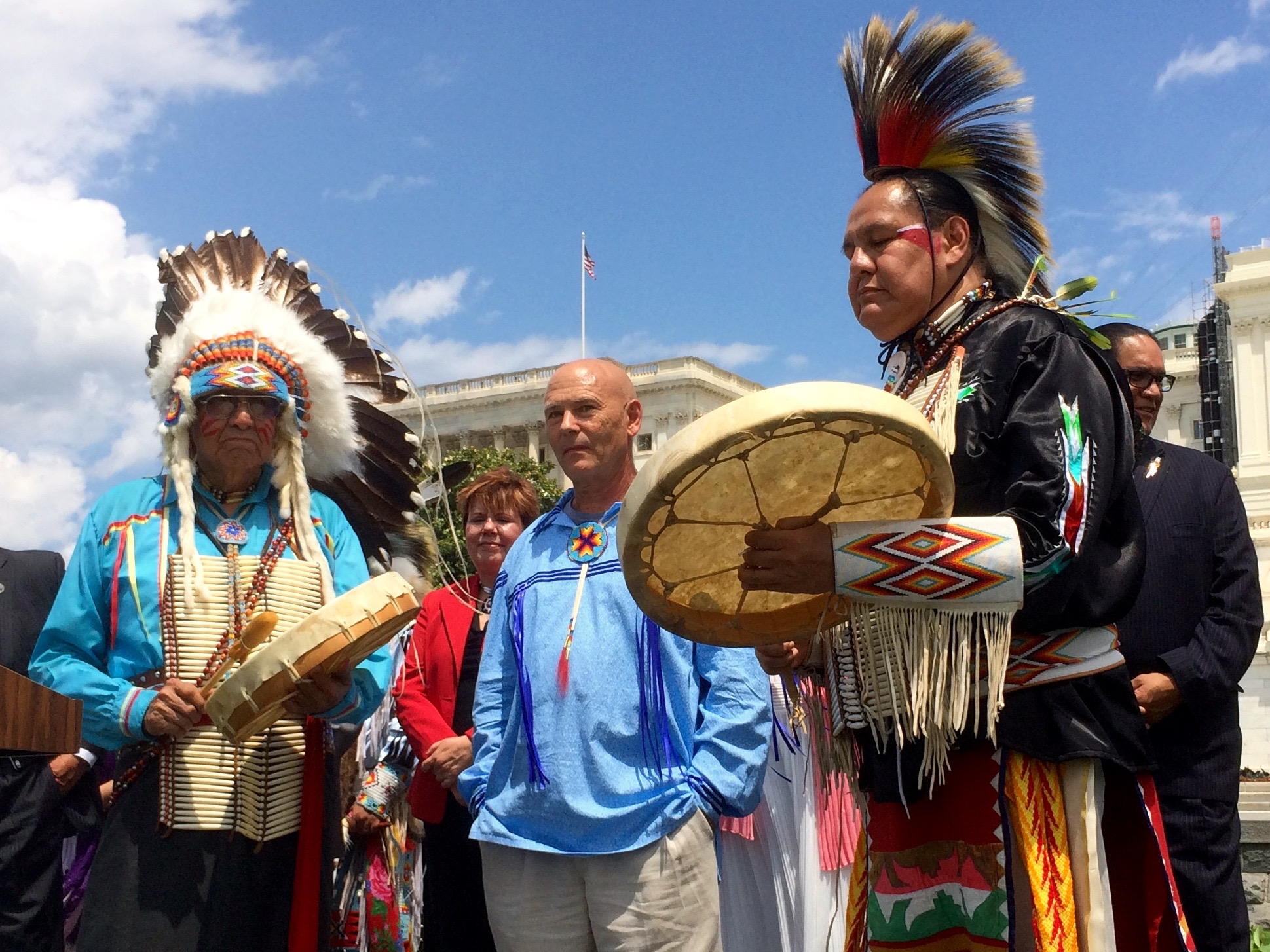 Pamunkey Tribe enters federal recognition era with new chief