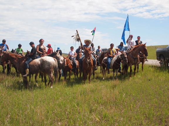 Native Sun News: Lakota riders complete journey to Little Bighorn