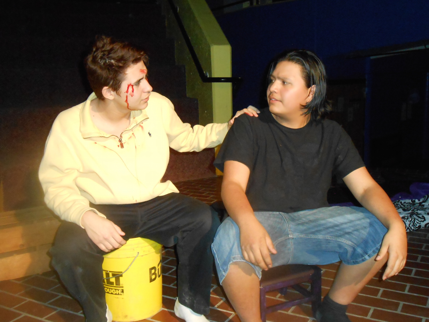 Lakota Country Times: Native youth work on drama and filmmaking