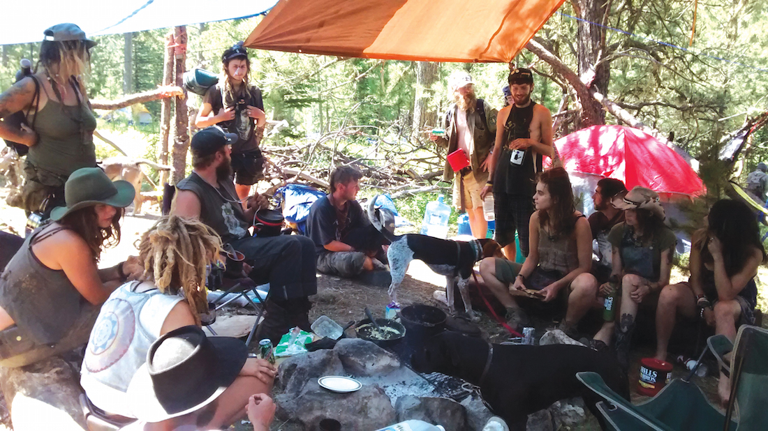 Native Sun News: Rainbow Gathering receives criticism and support