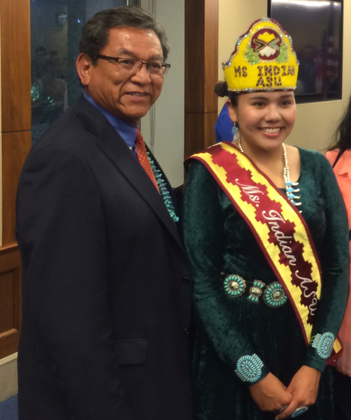 Large contingent represents Navajo Nation at White House event