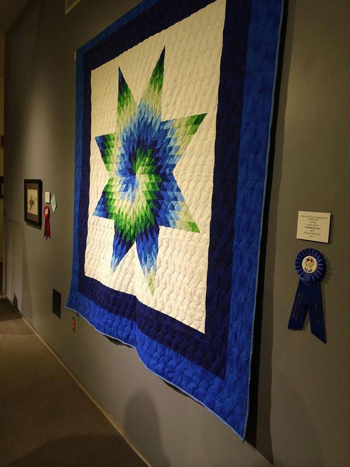 Native Sun News Cheyenne River Womans Star Quilt Off To Nmai