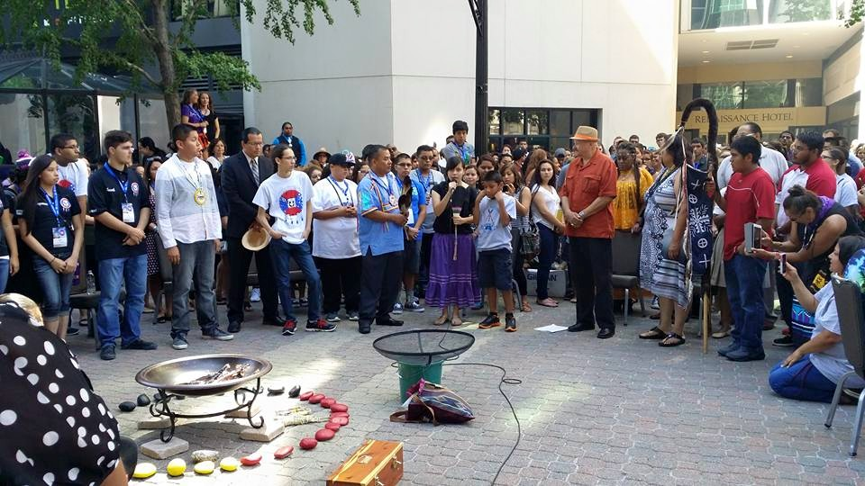 UNITY brings large group of Native youth to the nation's capital