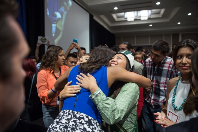 White House: A historic gathering for Native American youth