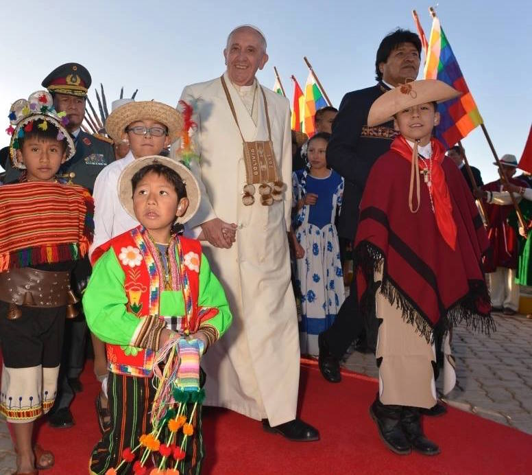 Steven Newcomb: Pope in denial about genocide of our peoples