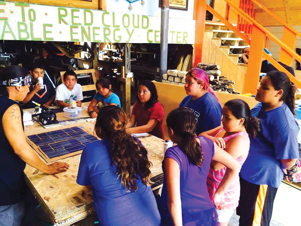 Native Sun News: Lakota man brings solar power to the people