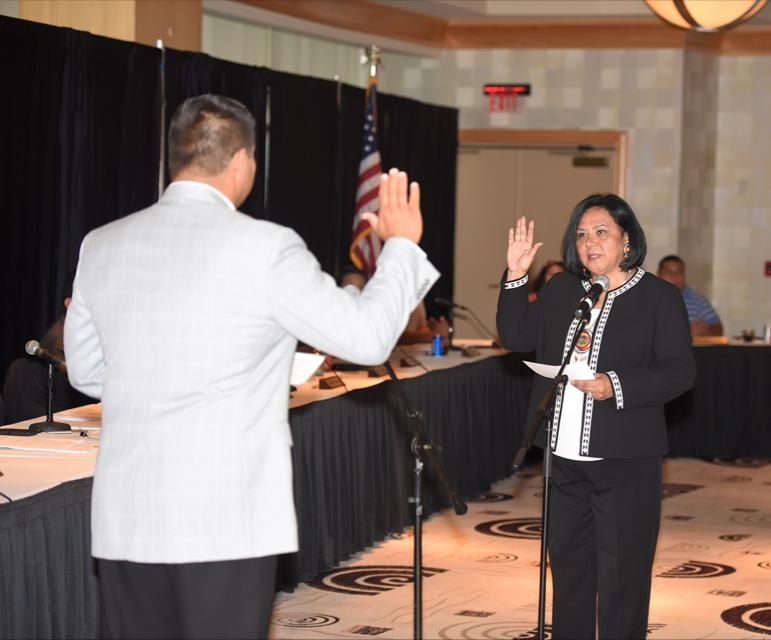 Mississippi Choctaws elect Phyllis Anderson as chief once again