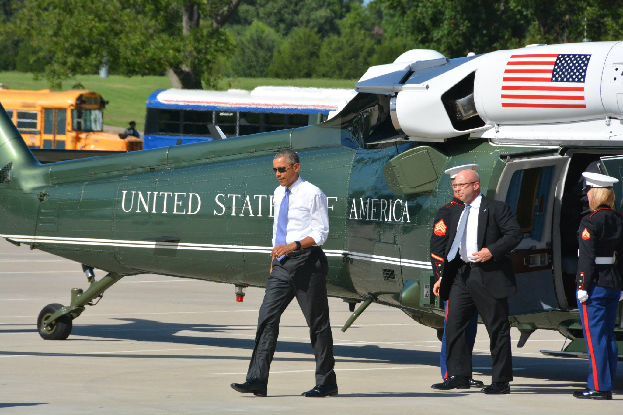 Choctaw Nation embraces President Obama on 'historic day'