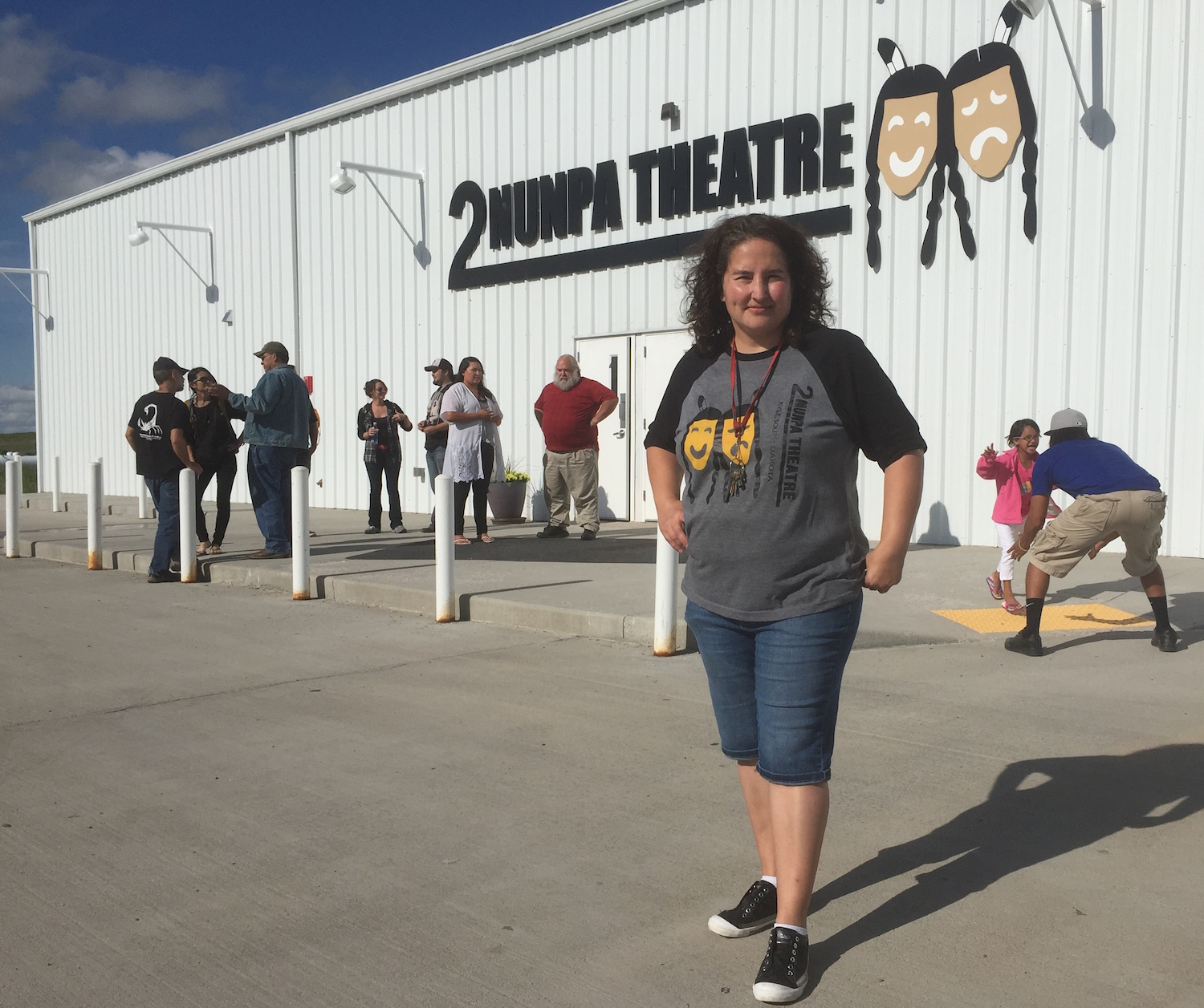 Lakota Country Times: Theater makes impact at Pine Ridge