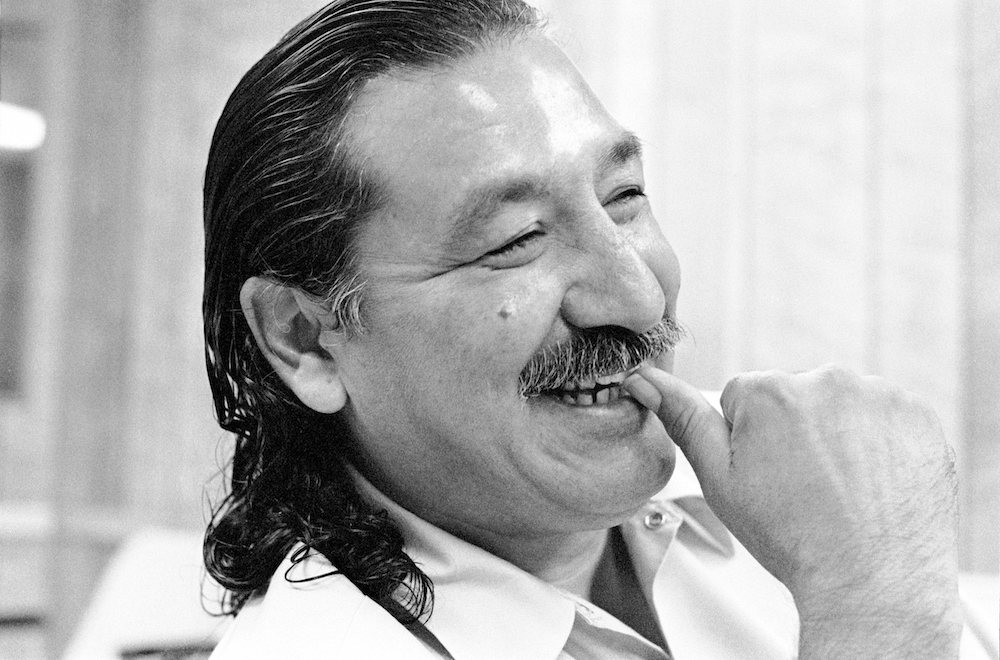 Leonard Peltier paintings being removed after complaint