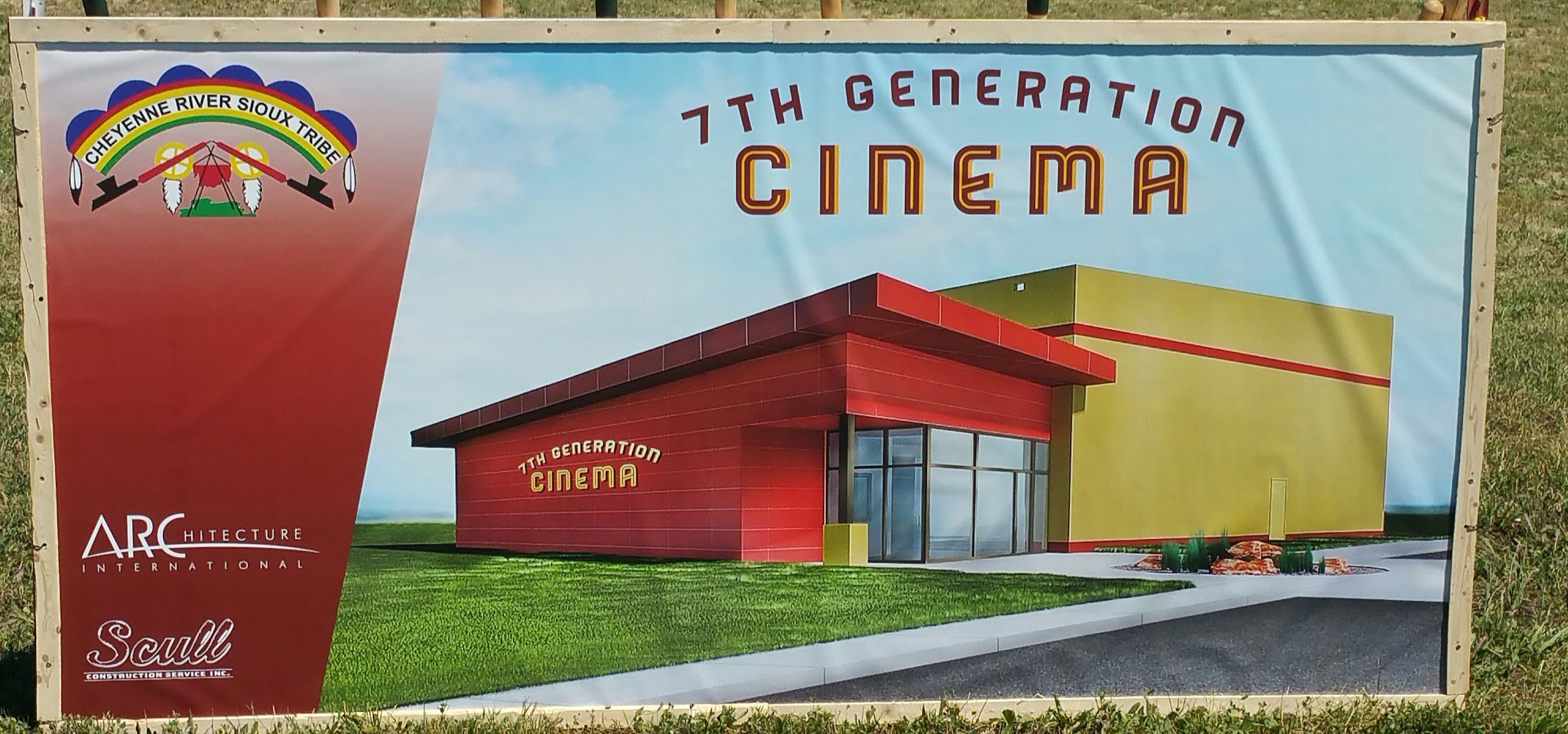 Cheyenne River Sioux Tribe finally starts work on movie theater