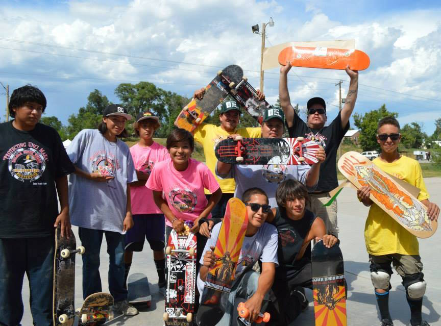 Lakota Country Times: Skate competition grows at Pine Ridge