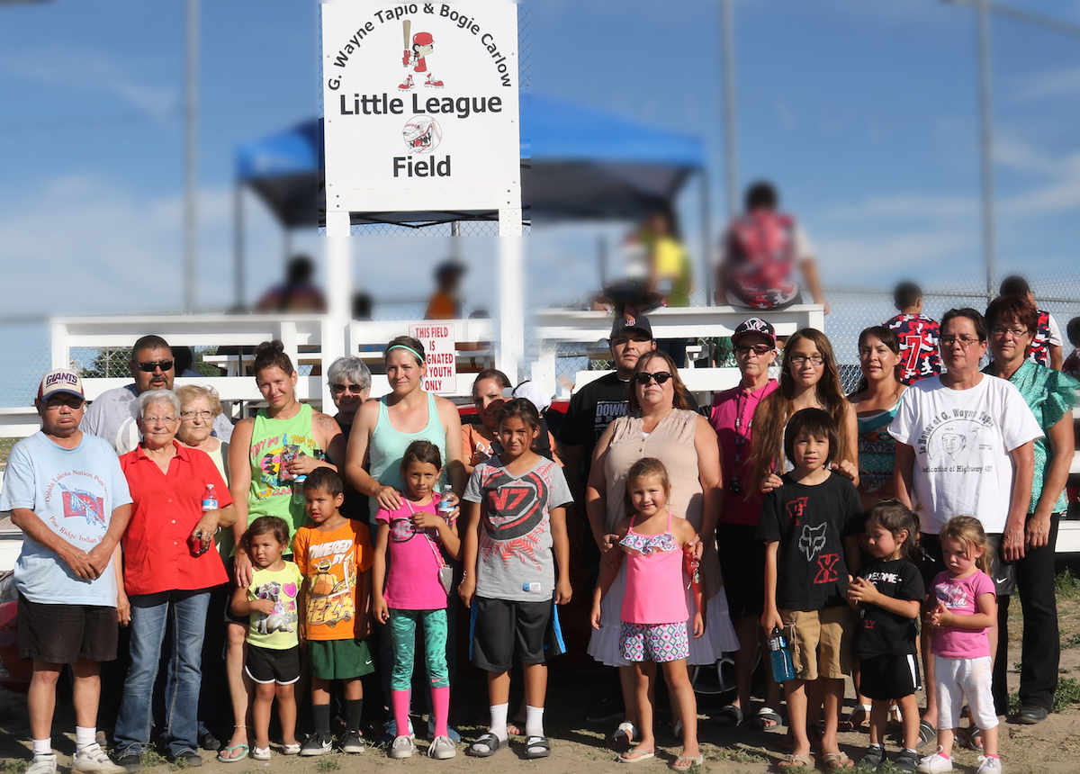 Lakota Country Times: Ball fields dedicated to Pine Ridge youth