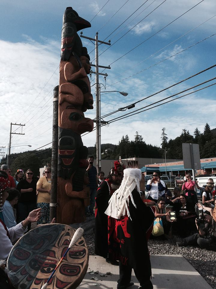 Ketchikan Indian Community helps dedicate new totem pole