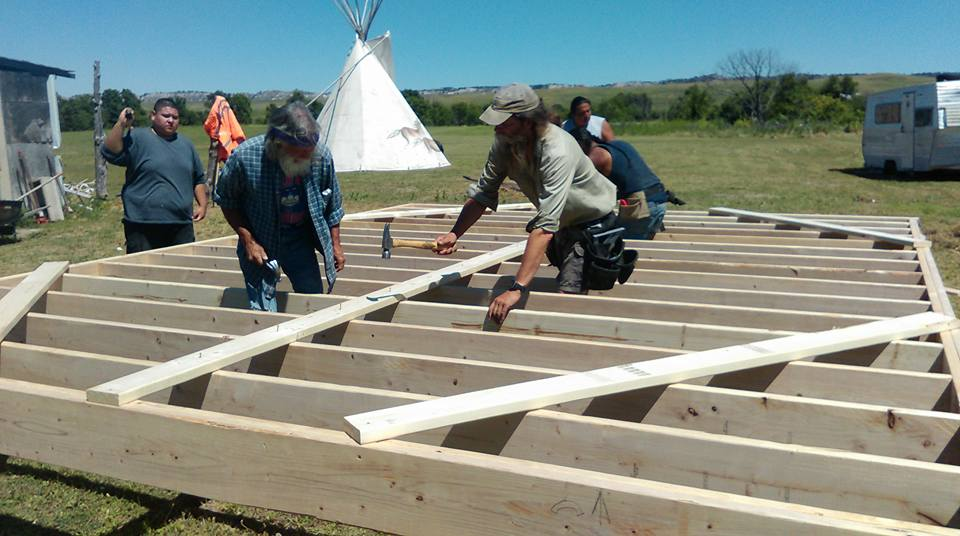 Lakota Country Times: First tiny home goes to Pine Ridge family