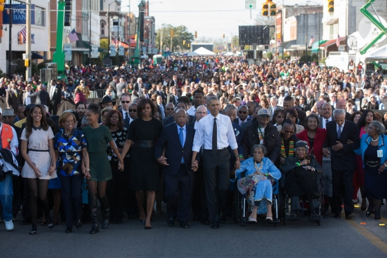 President Obama: Voting Rights Act still a target after 50 years