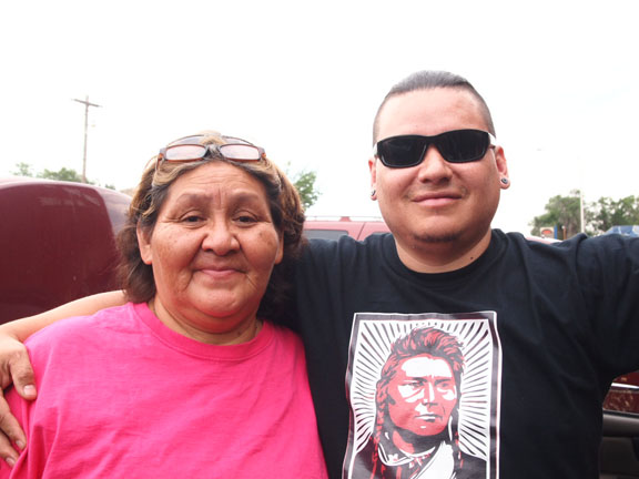 Native Sun News: Northern Cheyenne activists hanging tough