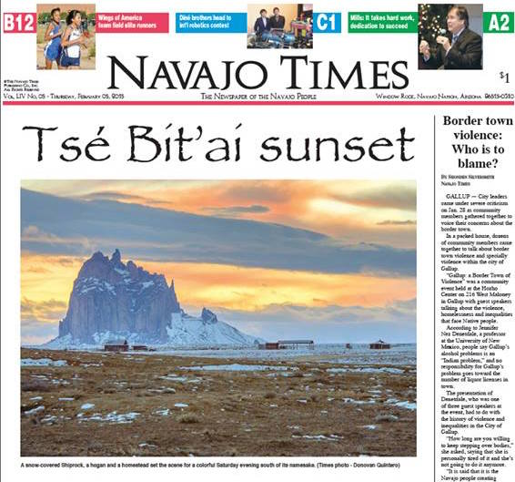 Tom Arviso: Navajo Times celebrates five decades of growth