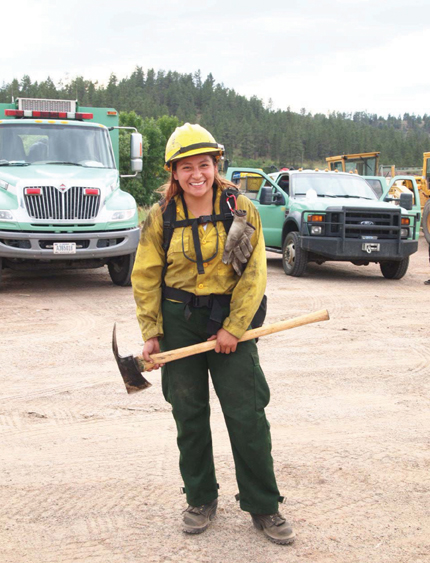 Native Sun News: Northern Cheyenne woman joins fire crew