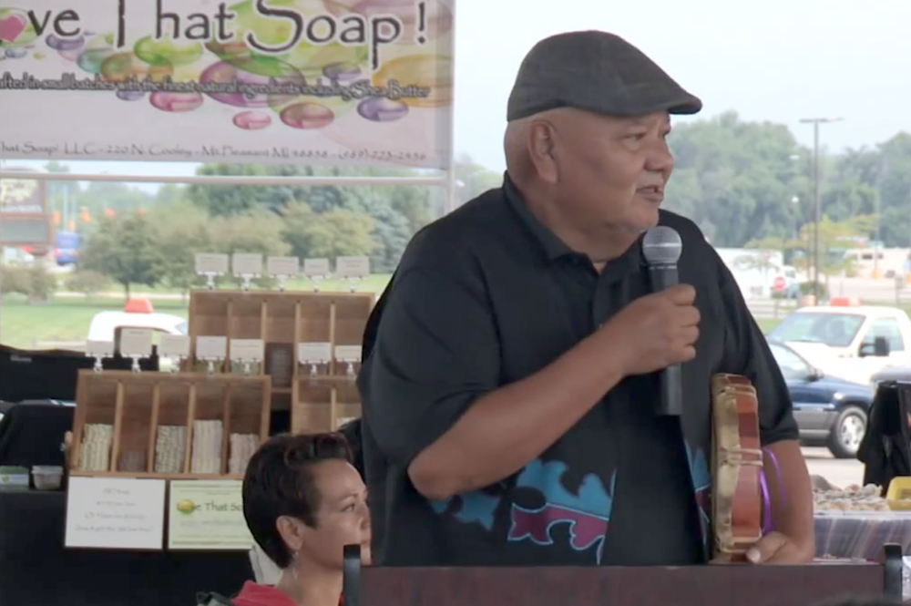 Saginaw Chippewa Tribe welcomes visitors to farmers market