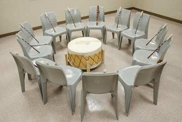 Native Sun News: Drum group returns to county detention facility